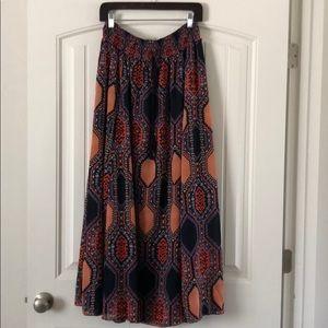 Gorgeous Anthro maxi skirt